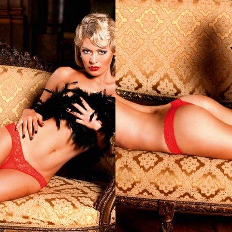 Mafia Трусики женские , красный, фото 4