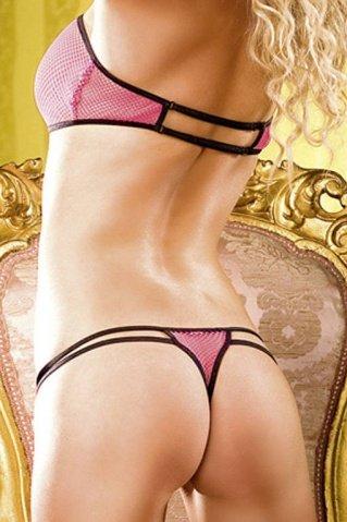 Комплект белья Barbie в сетку, фото 4