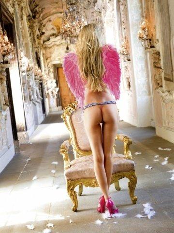 Ange Трусики женские , синий/розовый