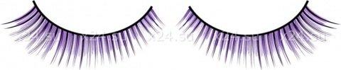 Ресницы черно-фиолетовые, фото 2