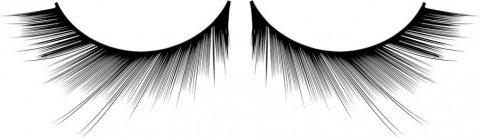 Ресницы чрные накладные Deluxe, фото 2
