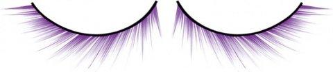 Ресницы фиолетовые Deluxe, фото 2