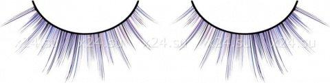 Ресницы фиолетовые накладные Deluxe