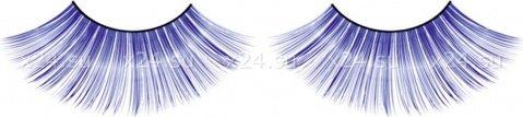 Ресницы синие длинные, фото 4