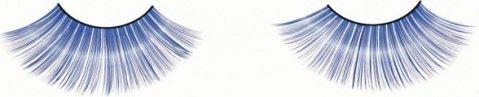 Ресницы синие длинные, фото 5