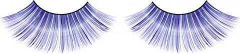 Ресницы синие длинные, фото 7