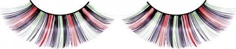 Ресницы цветные длинные, фото 6