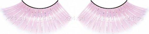 Ресницы розовые длинные, фото 4