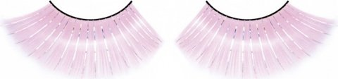 Ресницы розовые длинные, фото 6