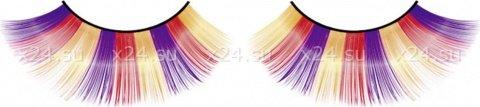 Ресницы фиолетово-оранжево-желтые, фото 4