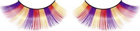 Ресницы фиолетово-оранжево-желтые, фото 6