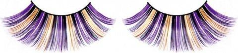 Ресницы фиолетово-черно-желтые, фото 6