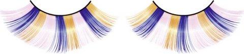 Ресницы голубо-розово-желтые, фото 2