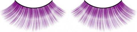 Ресницы фиолетовые длинные, фото 6
