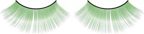 Ресницы зеленые длинные, фото 6