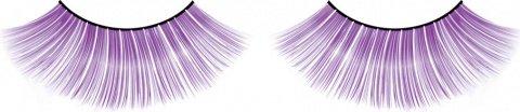 Ресницы фиолетовые длинные Deluxe, фото 6