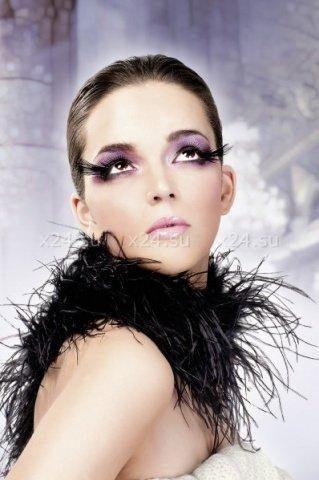 Ресницы чрные перья, фото 3
