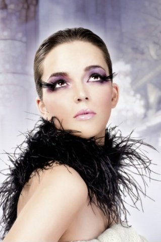 Ресницы чрные перья, фото 5