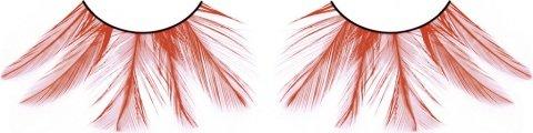 Ресницы красные перья, фото 2