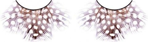 Ресницы тмно-фиолетовые перья, фото 2