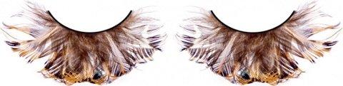 Ресницы чрные перья, фото 2