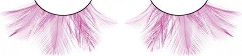 Ресницы розовые перья, фото 2