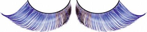 Ресницы светло-синие перья, фото 6