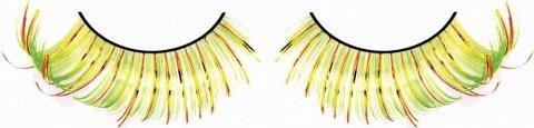 Ресницы жлто-оранжево-зеленые, фото 3
