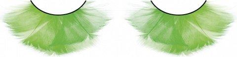 Ресницы цветные перья, фото 2