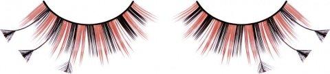Ресницы чрно-красные перья, фото 2