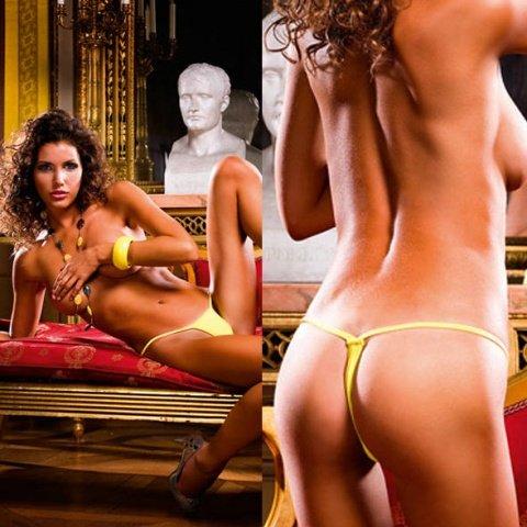 NeonBarock Трусики женские (42-46), желтый, фото 3