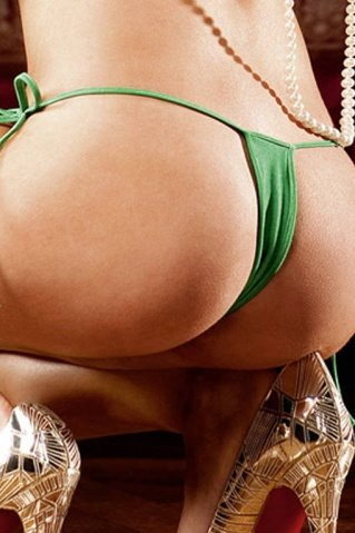 NeonBarock Трусики женские (42-46), зеленый