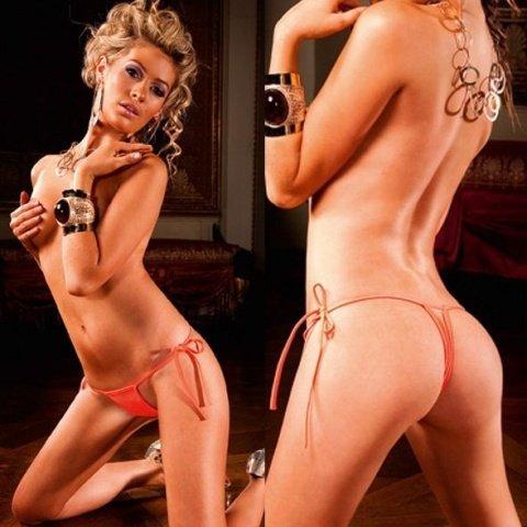 NeonBarock Трусики женские (42-46), оранжевый, фото 4