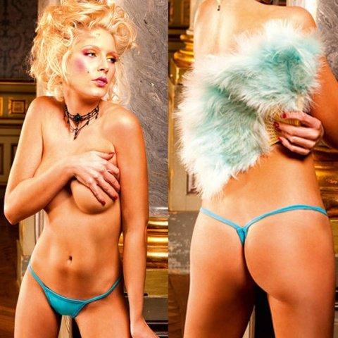 NeonBarock Трусики женские (42-46), голубой, фото 3