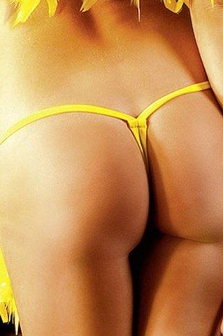 NeonBarock Трусики женские (42-46), желтый, фото 2