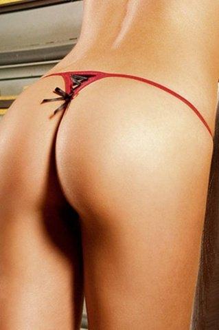 NeonBarock Трусики женские , красный/черный, фото 4