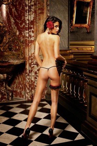 Spanish Трусики женские , красный/черный