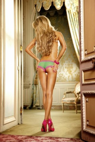Barbie Трусики женские , зеленый/розовый