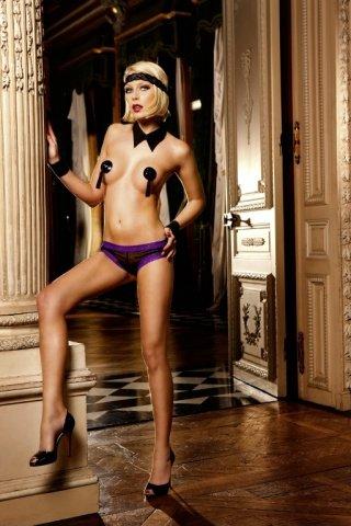 Ange Трусики женские , черный/розовый, фото 5