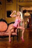 Мини-платье Barbie - Секс-шоп Мир Оргазма