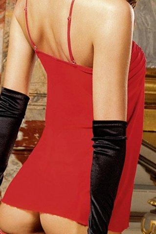 Spanish Мини-платье (42-46), красный, фото 2