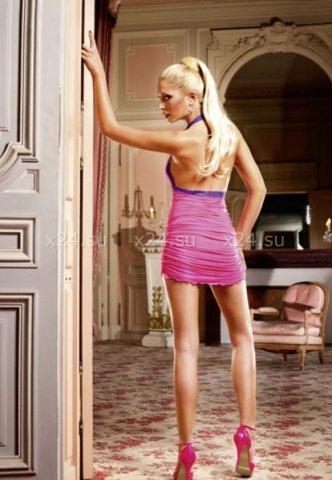 Barbie Мини-платье (42-46), розовый, фото 2