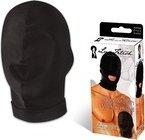 Эластичная маска на голову с прорезью для рта - Секс шоп Мир Оргазма