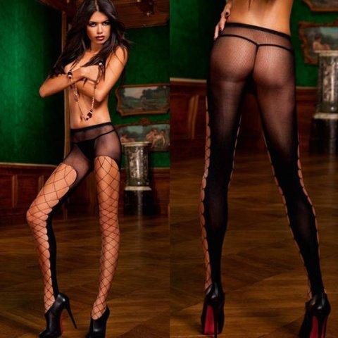 Devil Колготки (42-46), черный, фото 5