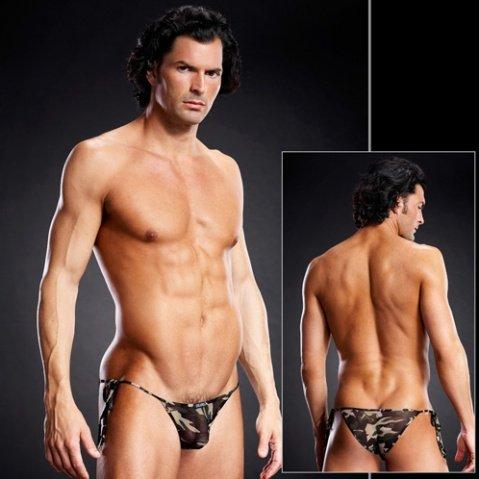 Трусы мужские side-tie бикини S/M, фото 3