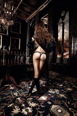 Deeper in Hell G-Стринги черные из тюлевой ткани с узорами из ромбиков