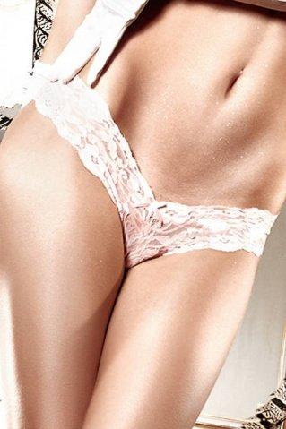 Back in Heaven G-Стринги светло-розовые кружевные ML (большое фото) > Секс-шоп Мир Оргазма