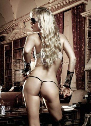 Agent Of Love Комплект бикини светло-бежевый с черными кружевными элементами и косточками ML, фото 3