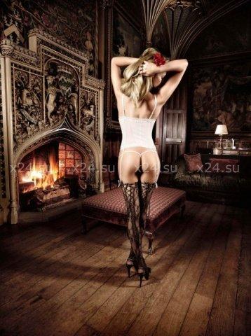 Agent Of Love Комплект бикини светло-бежевый кружевной, фото 2