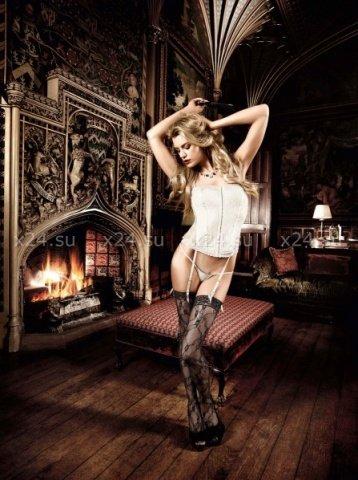 Agent Of Love Комплект бикини светло-бежевый кружевной, фото 3